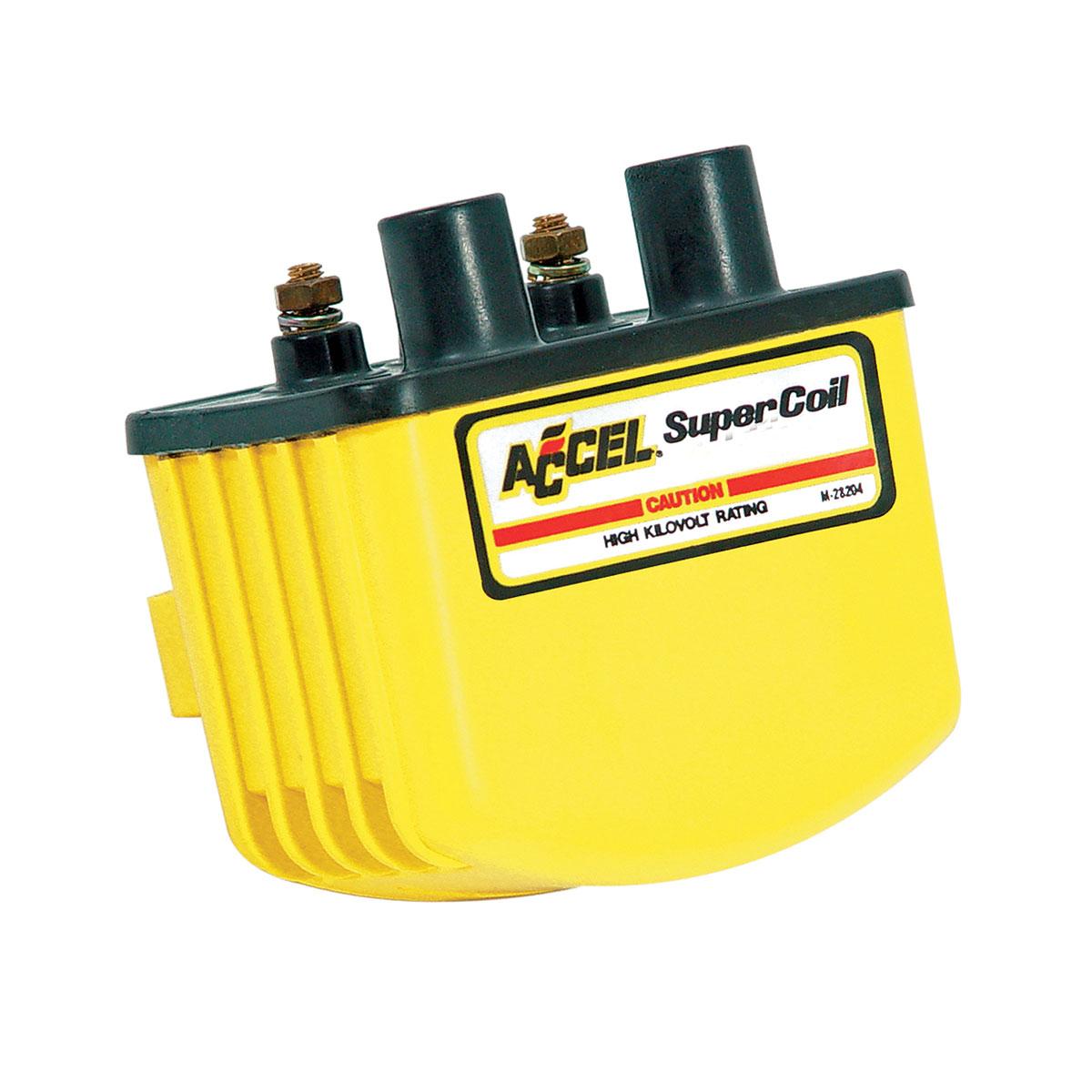 ACCEL Yellow Single Fire Super Coil - 140408