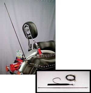 J&M License Plate Mount CB Antenna Kit