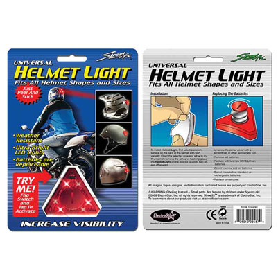 Street FX Helmet Light