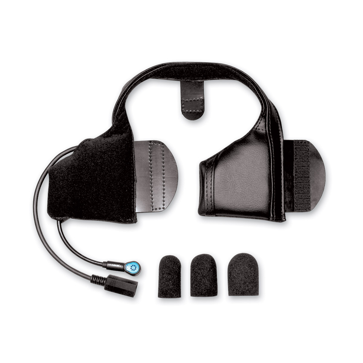 J&M Slide-In Headset for Shorty Style Helmet