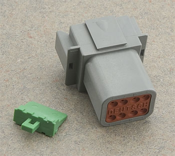 NAMZ Custom Cycle Deutsch Connector Plug Receptacle
