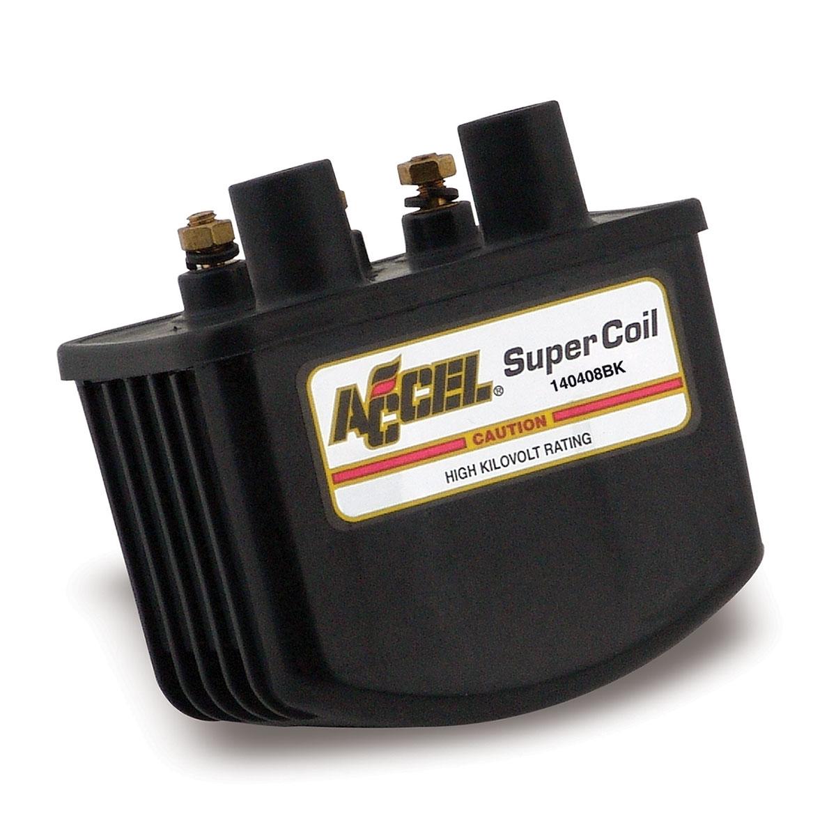 ACCEL Black Single Fire Super Coil