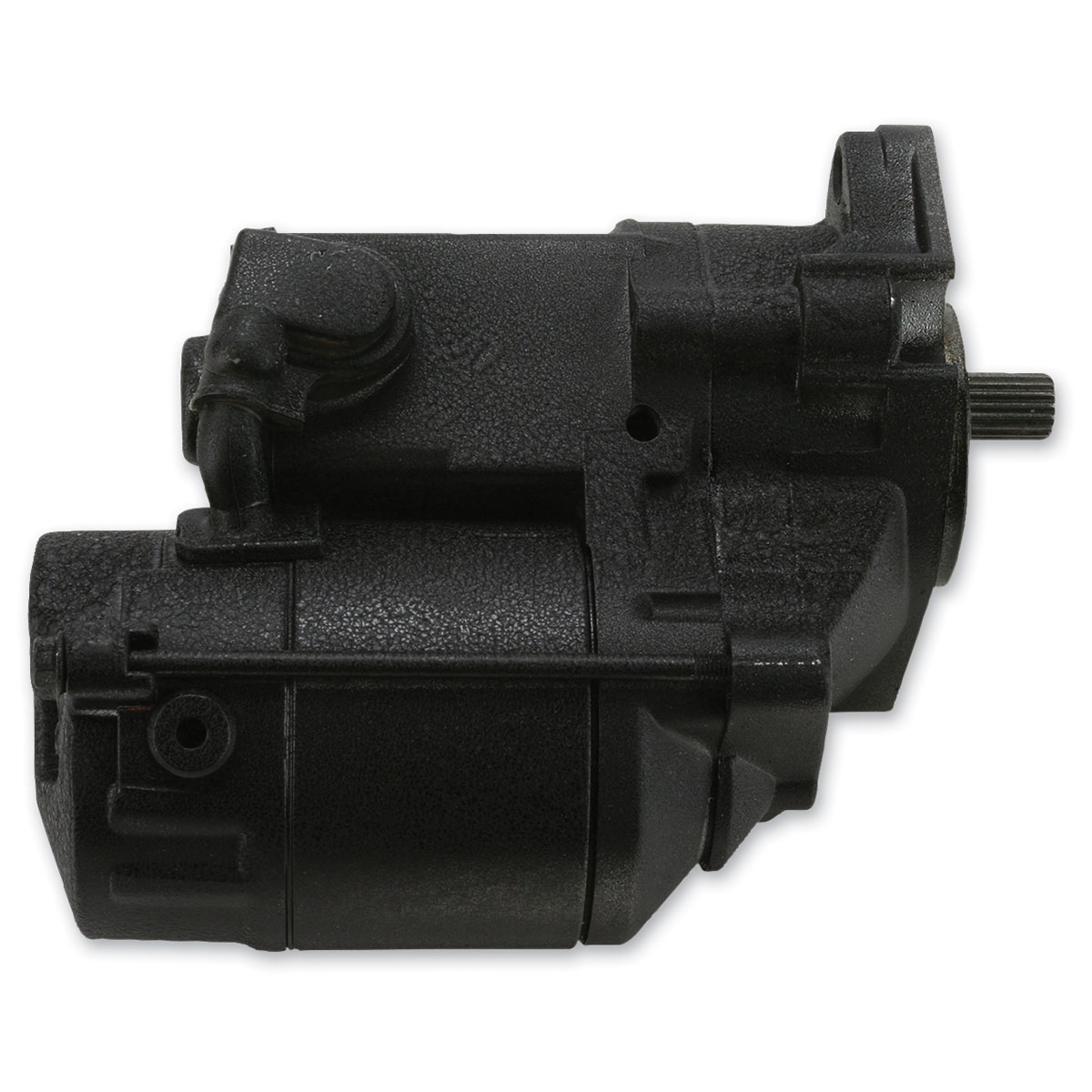 Terry Components 1.2 kW Starter Motor Black
