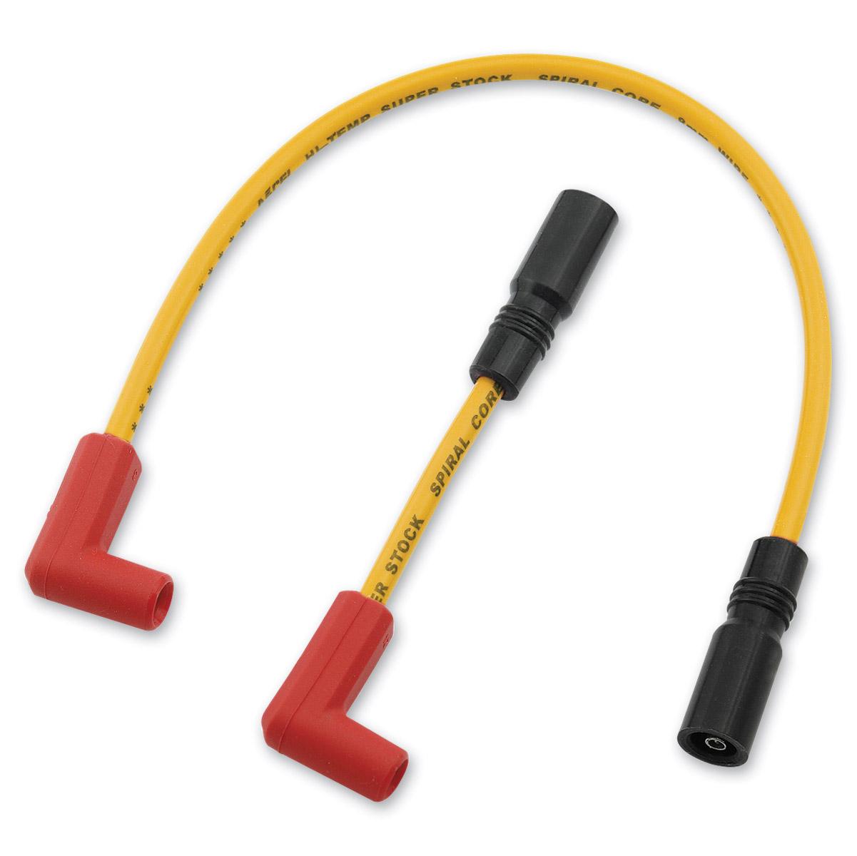 ACCEL Yellow 8mm Super Stock Ferro-Spiral Core Wire Set
