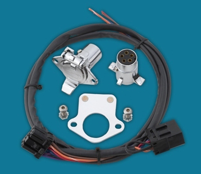 khrome werks wiring harness with 5-pin connector kit