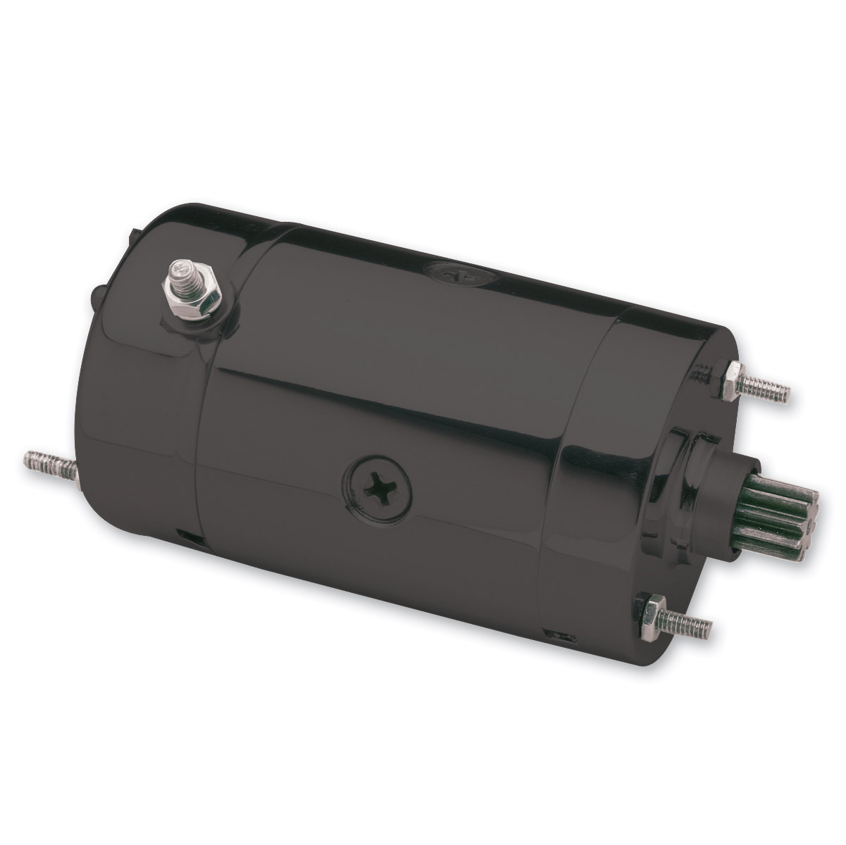 Motorcycle Electric Suppliers Hitachi Type Black Starter Motor