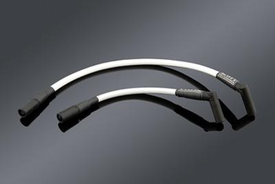 Scott Performance White 8mm Spark Plug Wire Set - SPC5WH