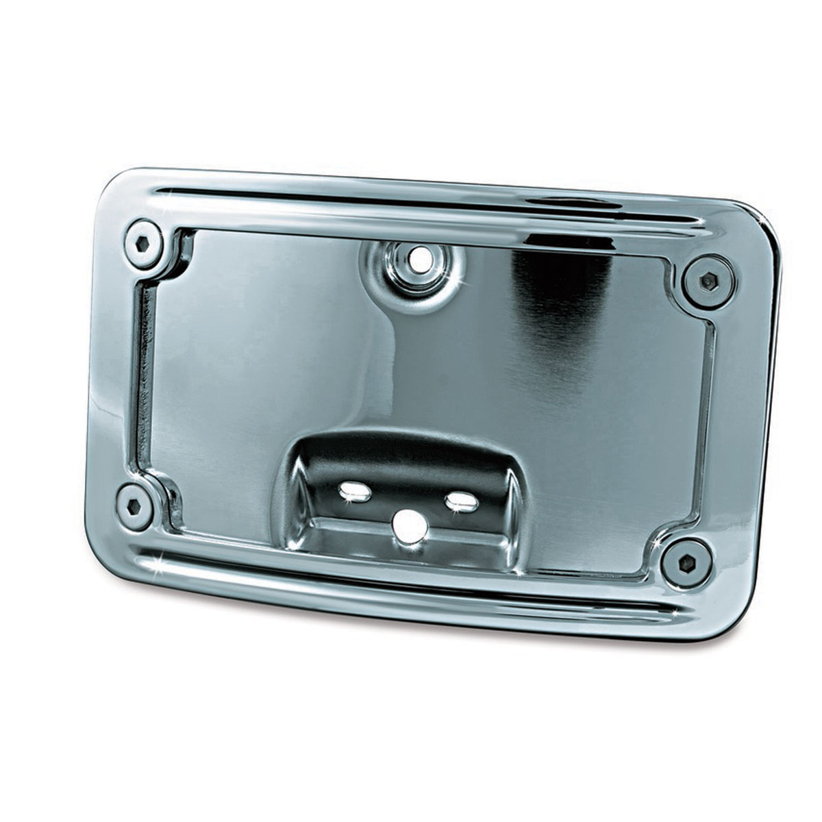 Kuryakyn Curved Laydown License Plate Mount