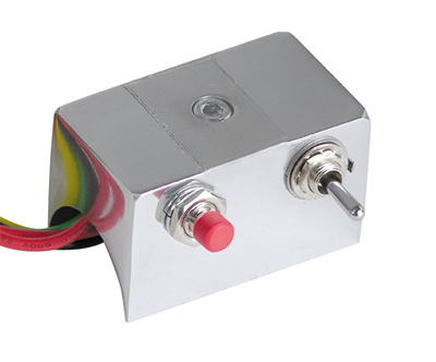 """Double"" Mini Aluminum Handlebar Switch Box"