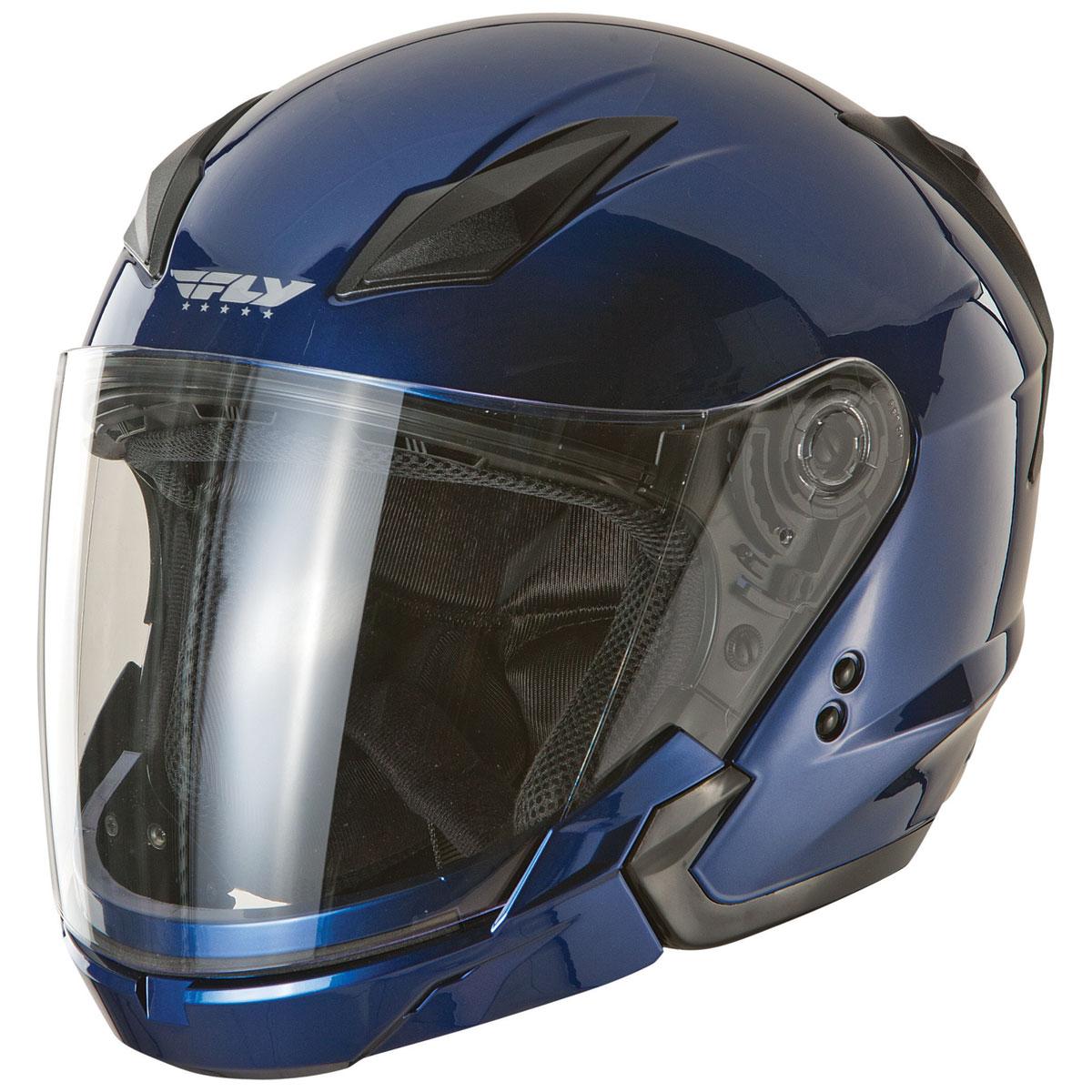 FLY Racing Street Tourist Blue Modular Helmet