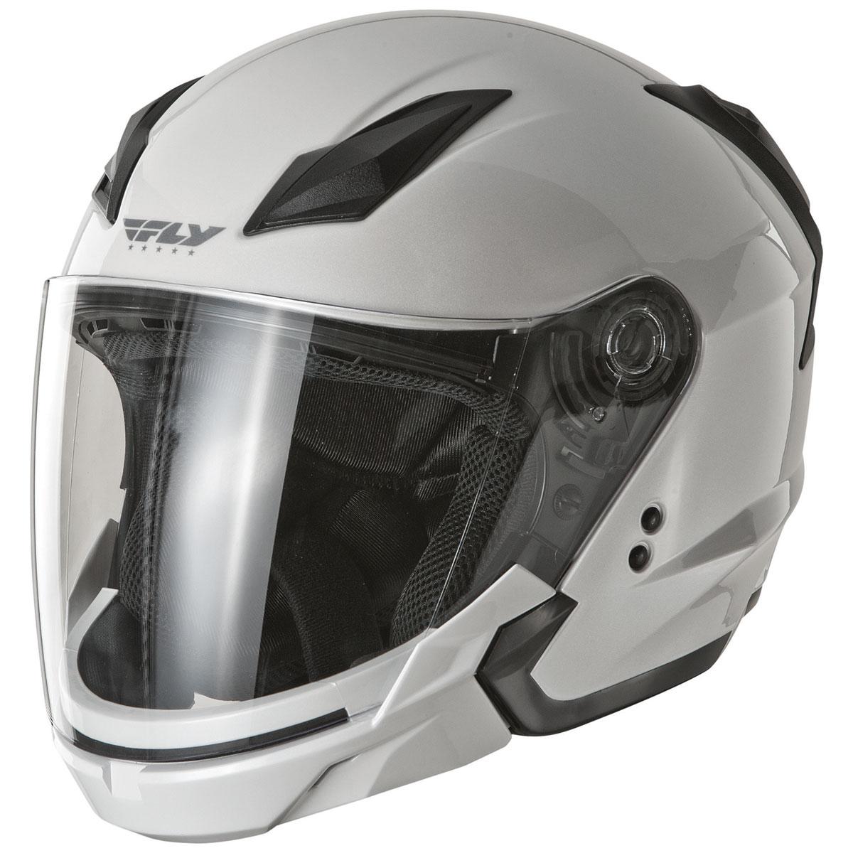 FLY Racing Street Tourist Pearl White Modular Helmet