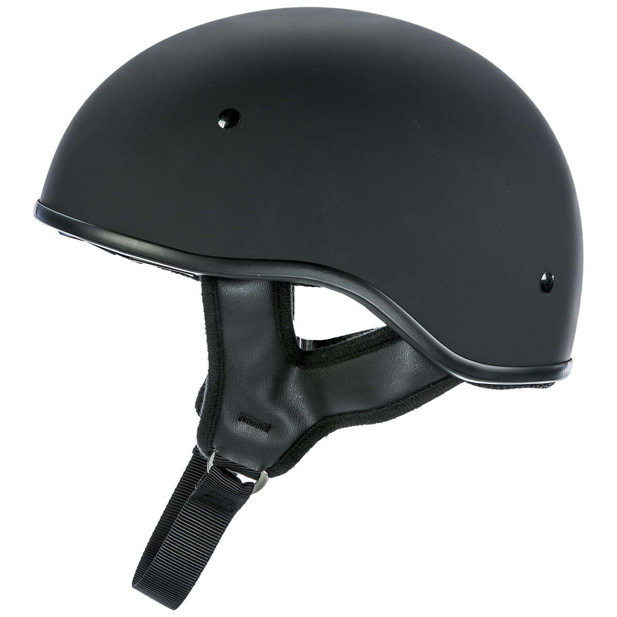 FLY Racing Street .357 Matte Black Half Helmet