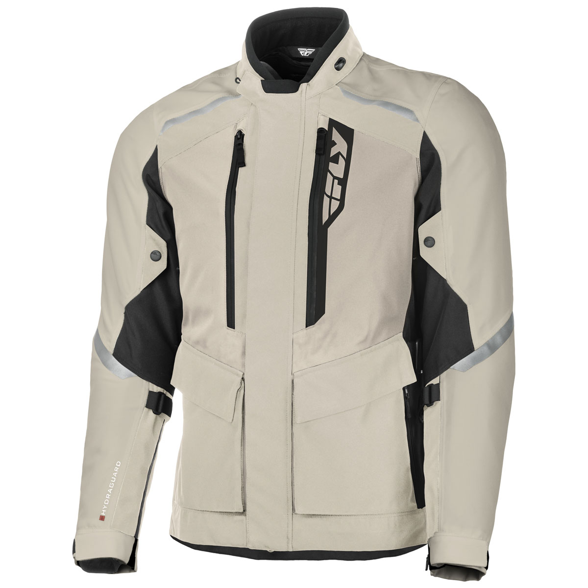 FLY Racing Street Men's Terra Trek Sand/Black Textile Jacket