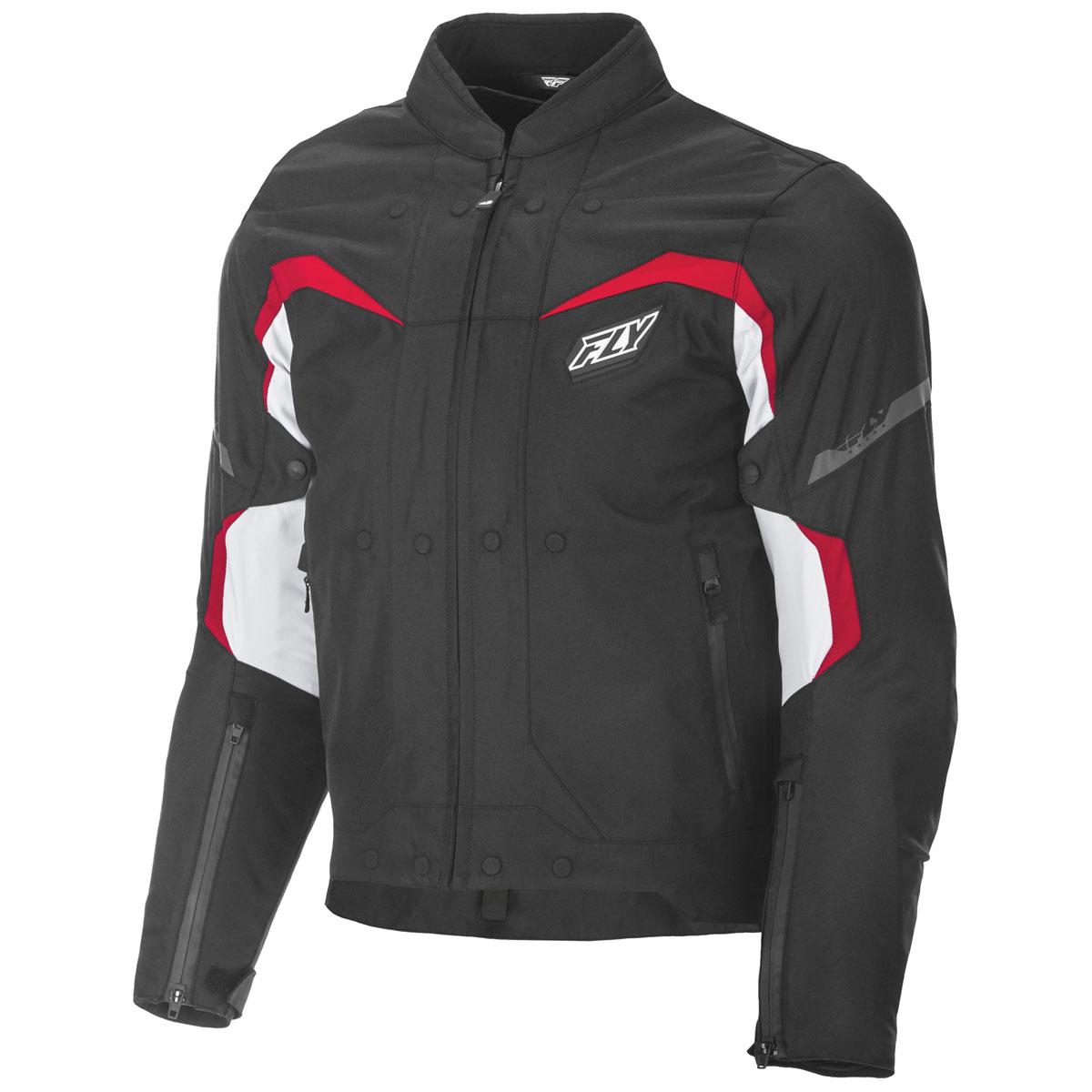 FLY Racing Street Men's Butane Black/Red/White Jacket