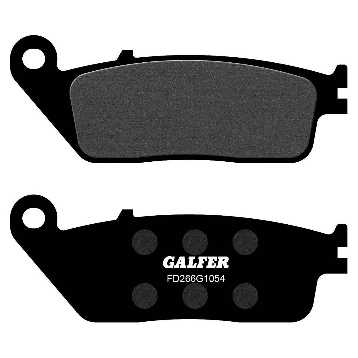 Galfer USA Semi-Metallic Carbon Front Brake Pads