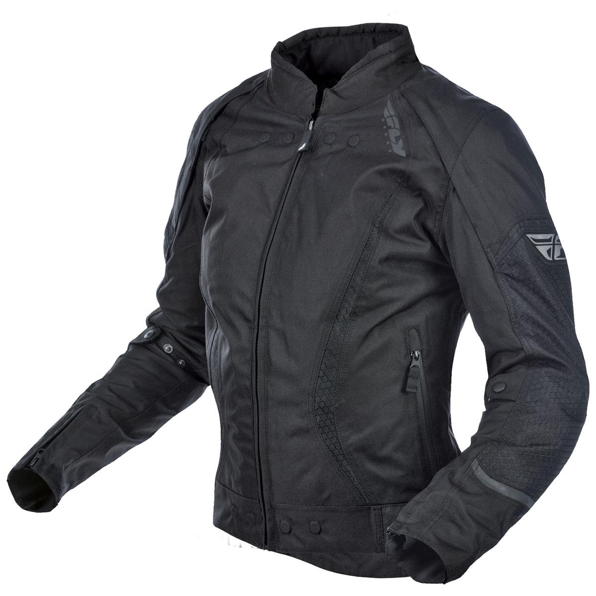 FLY Racing Street Women's Butane Black Jacket