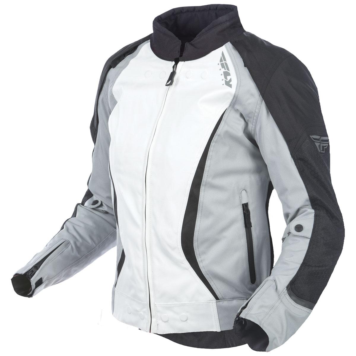 FLY Racing Street Women's Butane Black/White Jacket