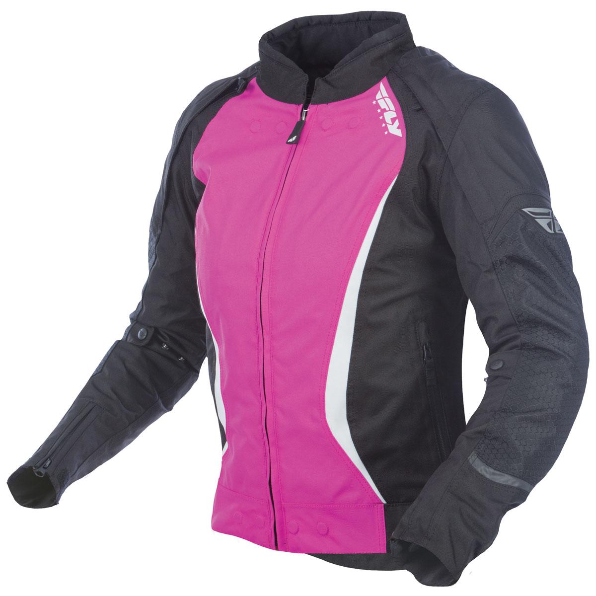 FLY Racing Street Women's Butane Black/Pink Jacket