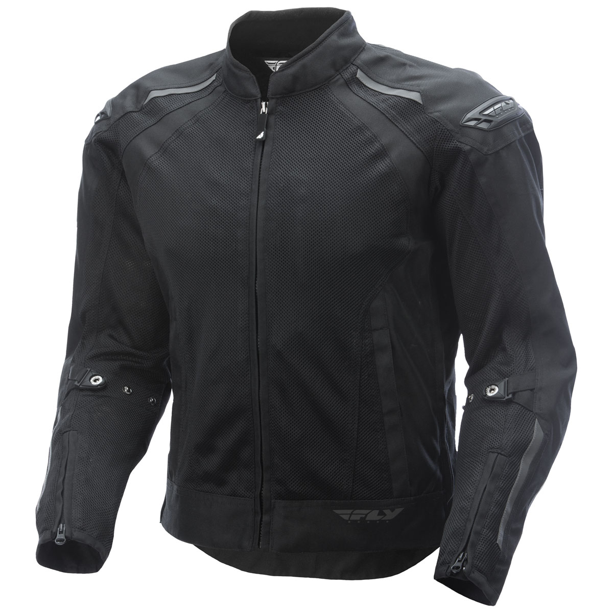 FLY Racing Street Men's Cool Pro Black Mesh Jacket
