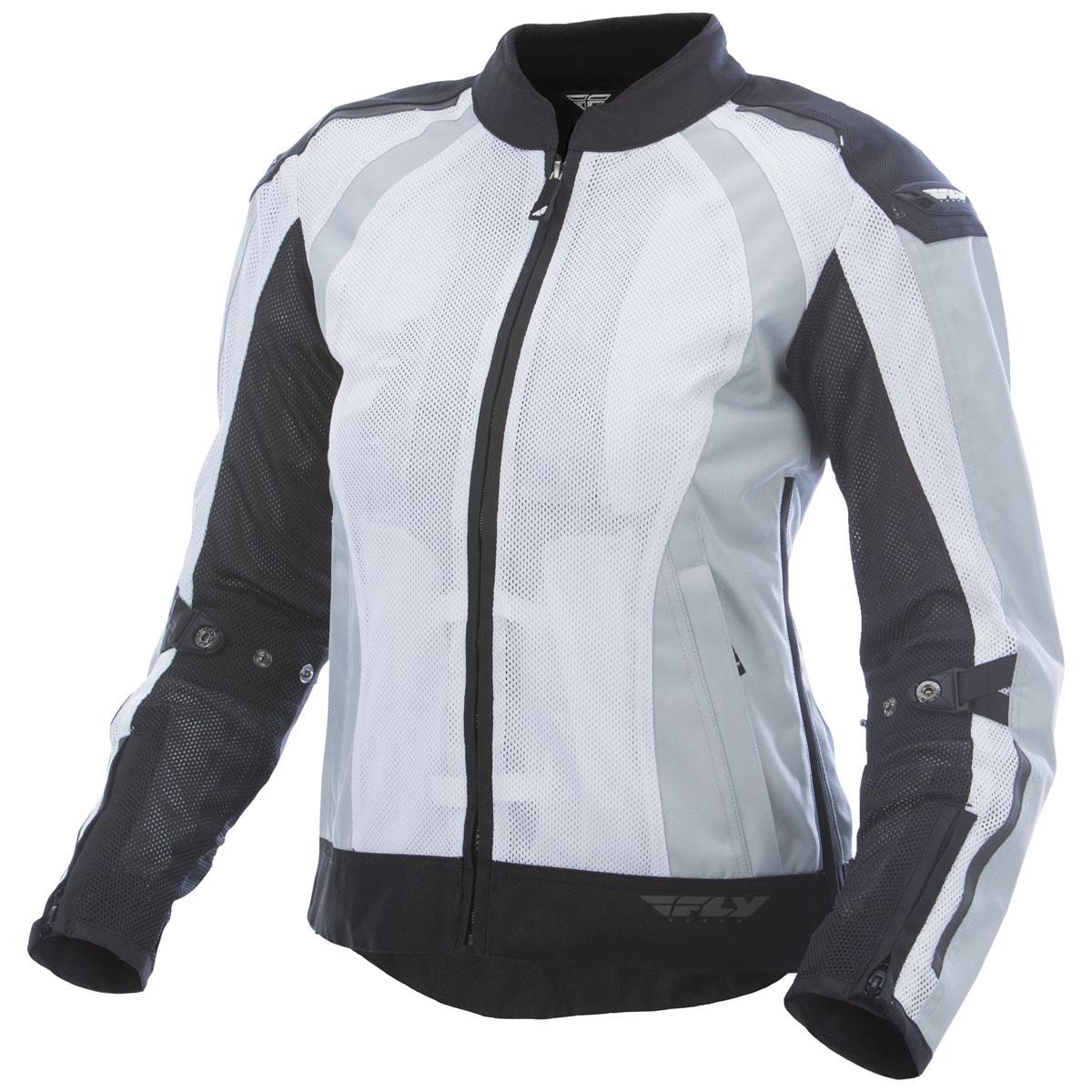 FLY Racing Street Women's Cool Pro Black/White Mesh Jacket