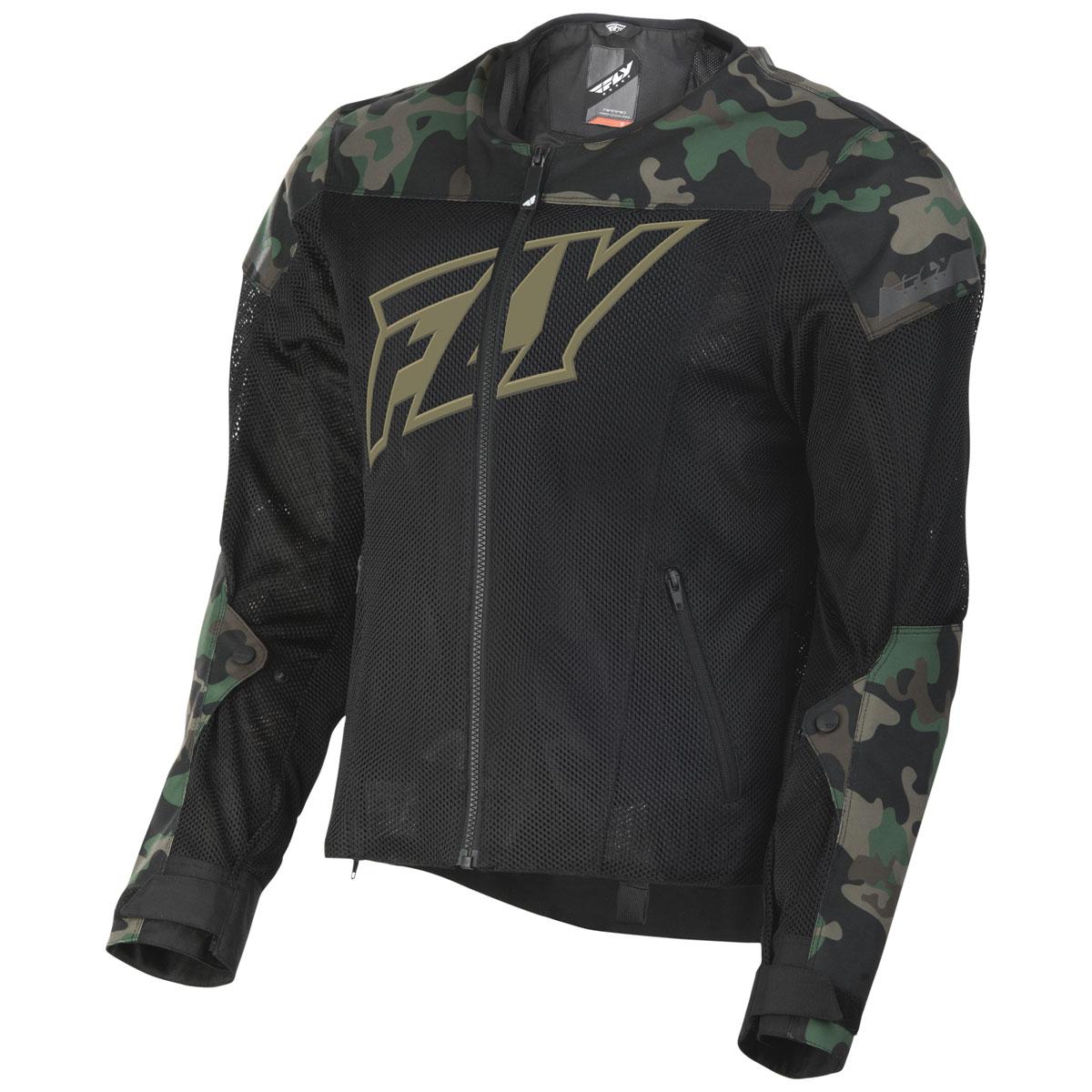 FLY Racing Street Men's Flux Air Camo Mesh Jacket