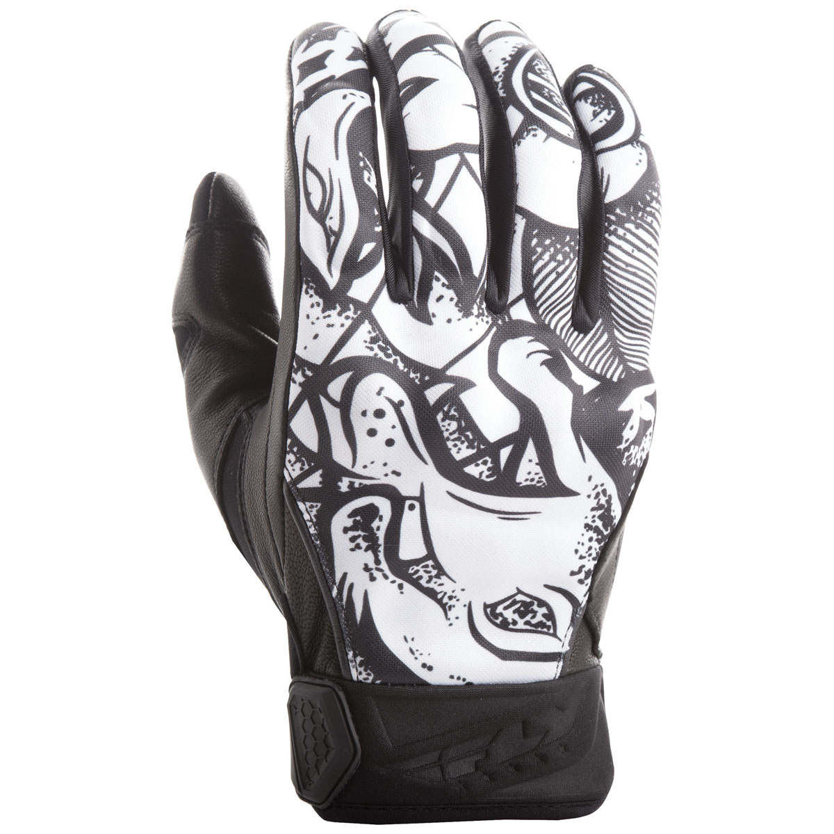 FLY Racing Street Men's Subvert Ink 'N Needle Gloves