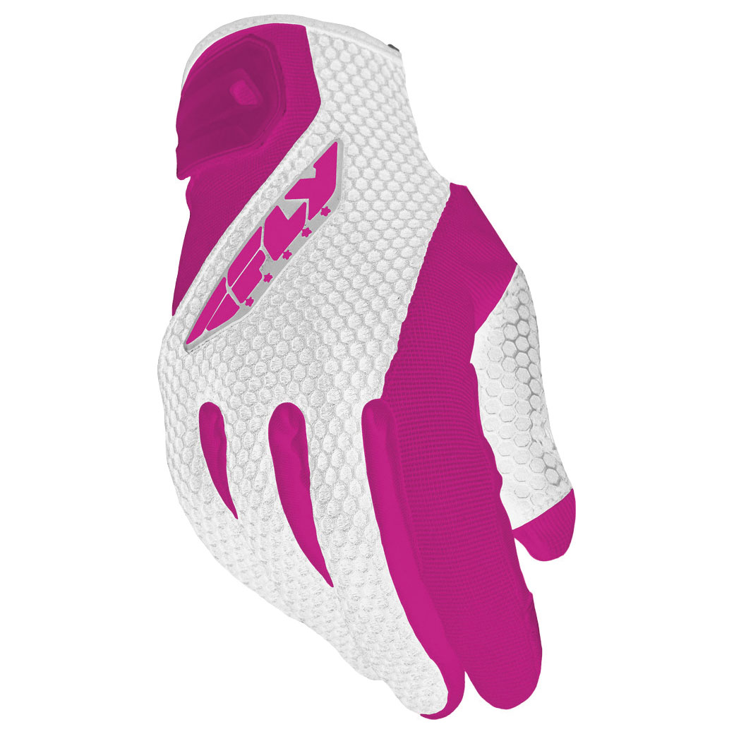 FLY Racing Street Women's CoolPro II Pink Mesh Gloves