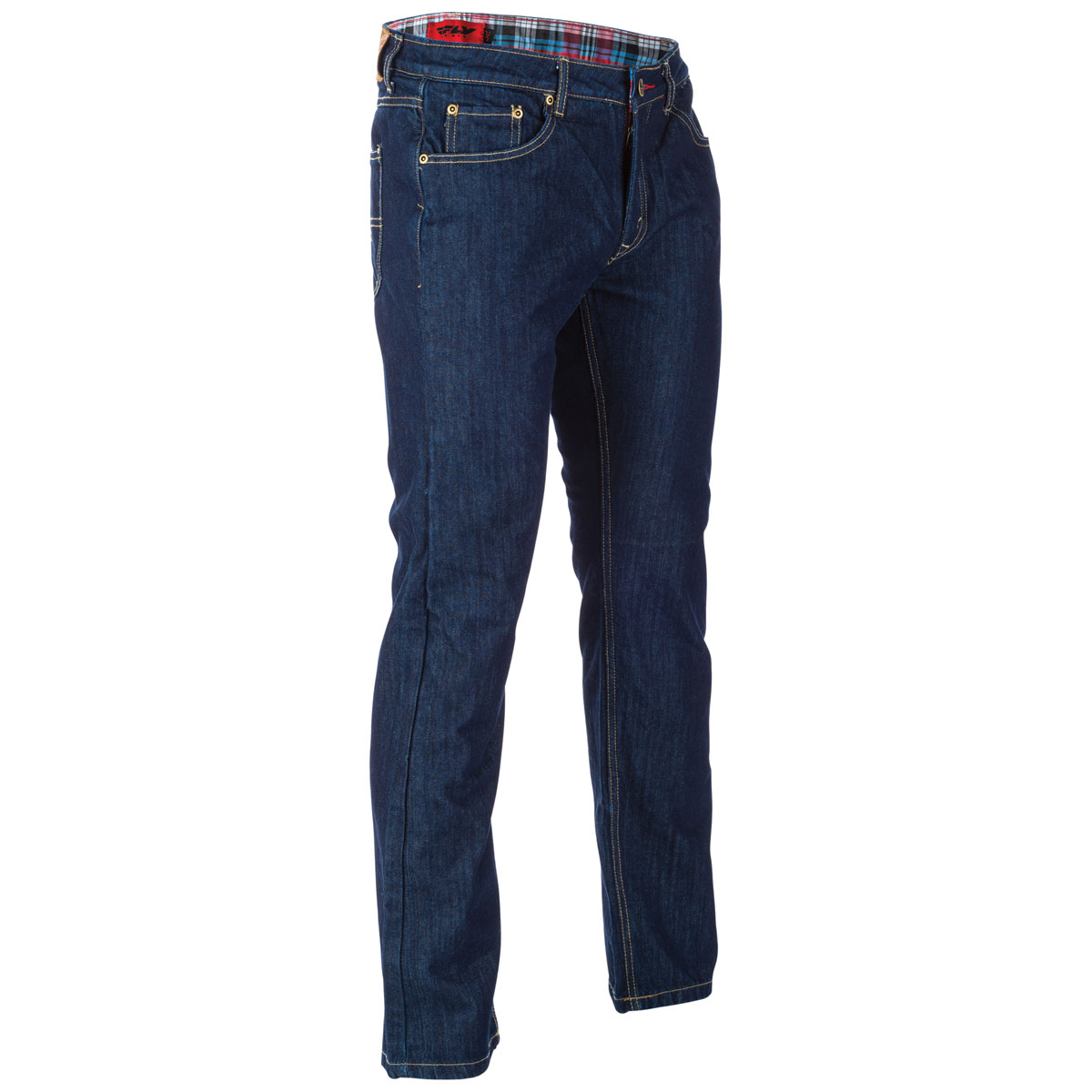 FLY Racing Street Men's Resistance Indigo Riding Jeans