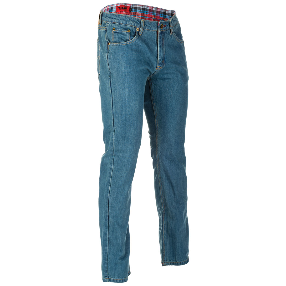 FLY Racing Street Men's Resistance Blue Riding Jeans