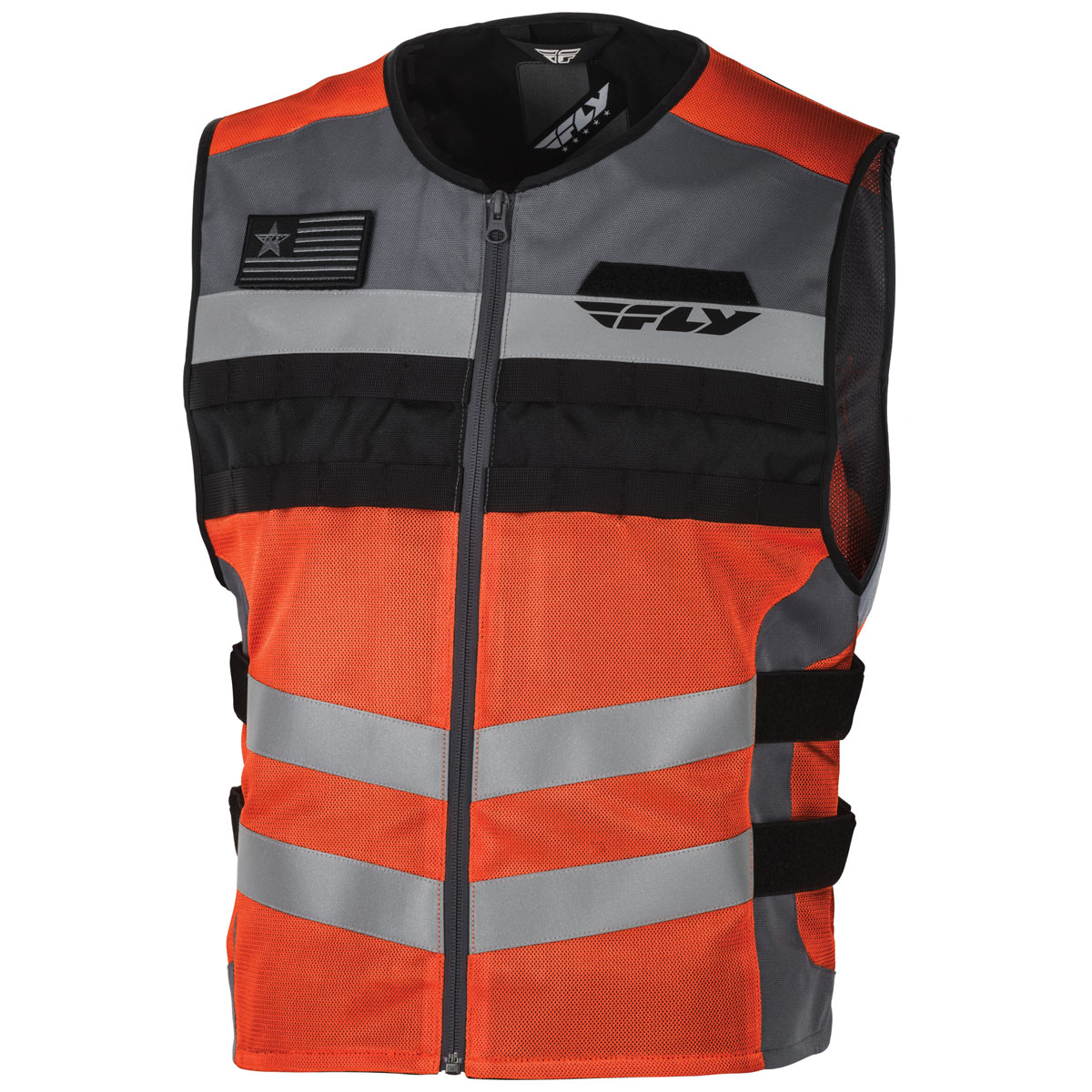FLY Racing Street Men's Fast Pass Hi-Viz Orange Vest
