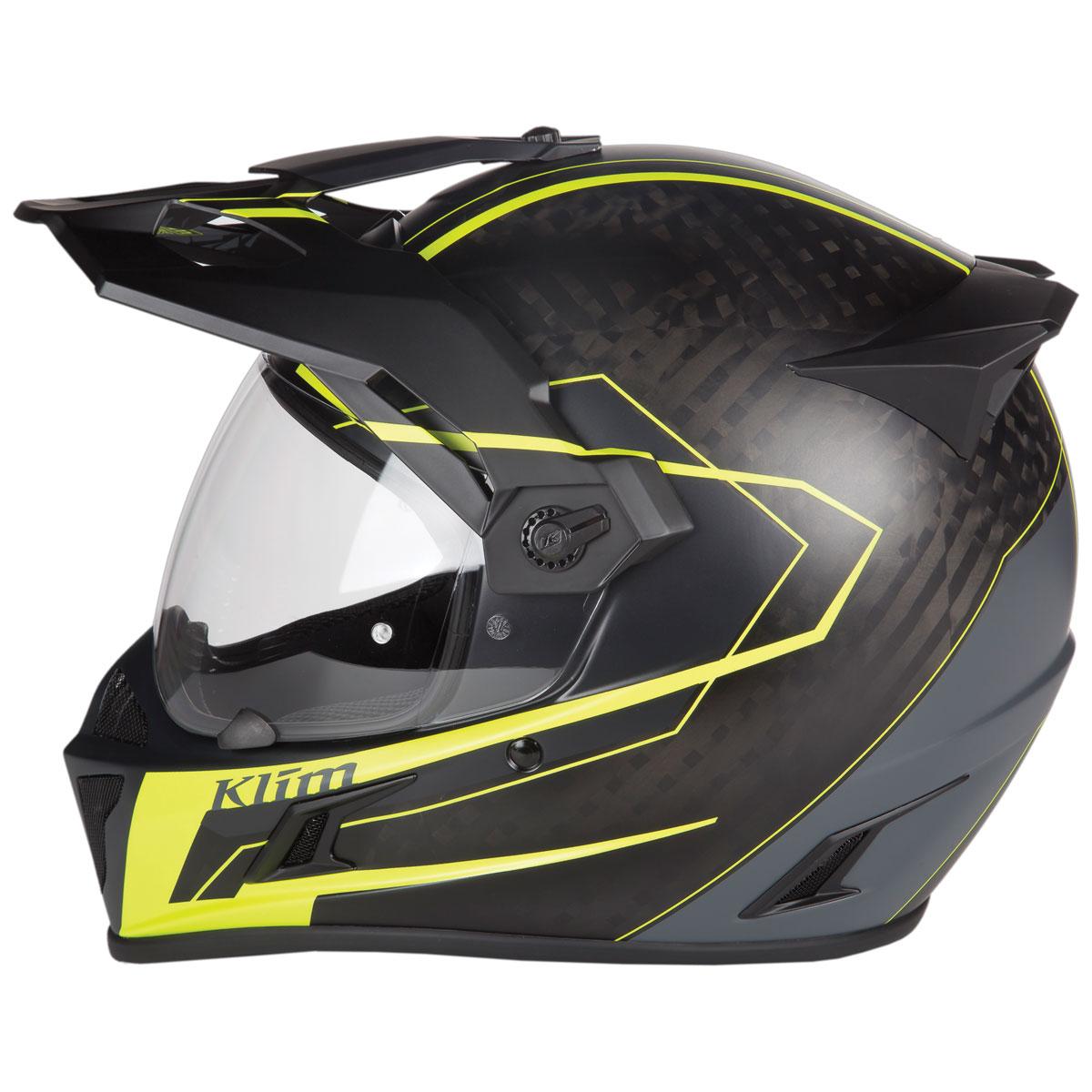 Klim Krios Vanquish Hi-Viz Dual Sport Helmet