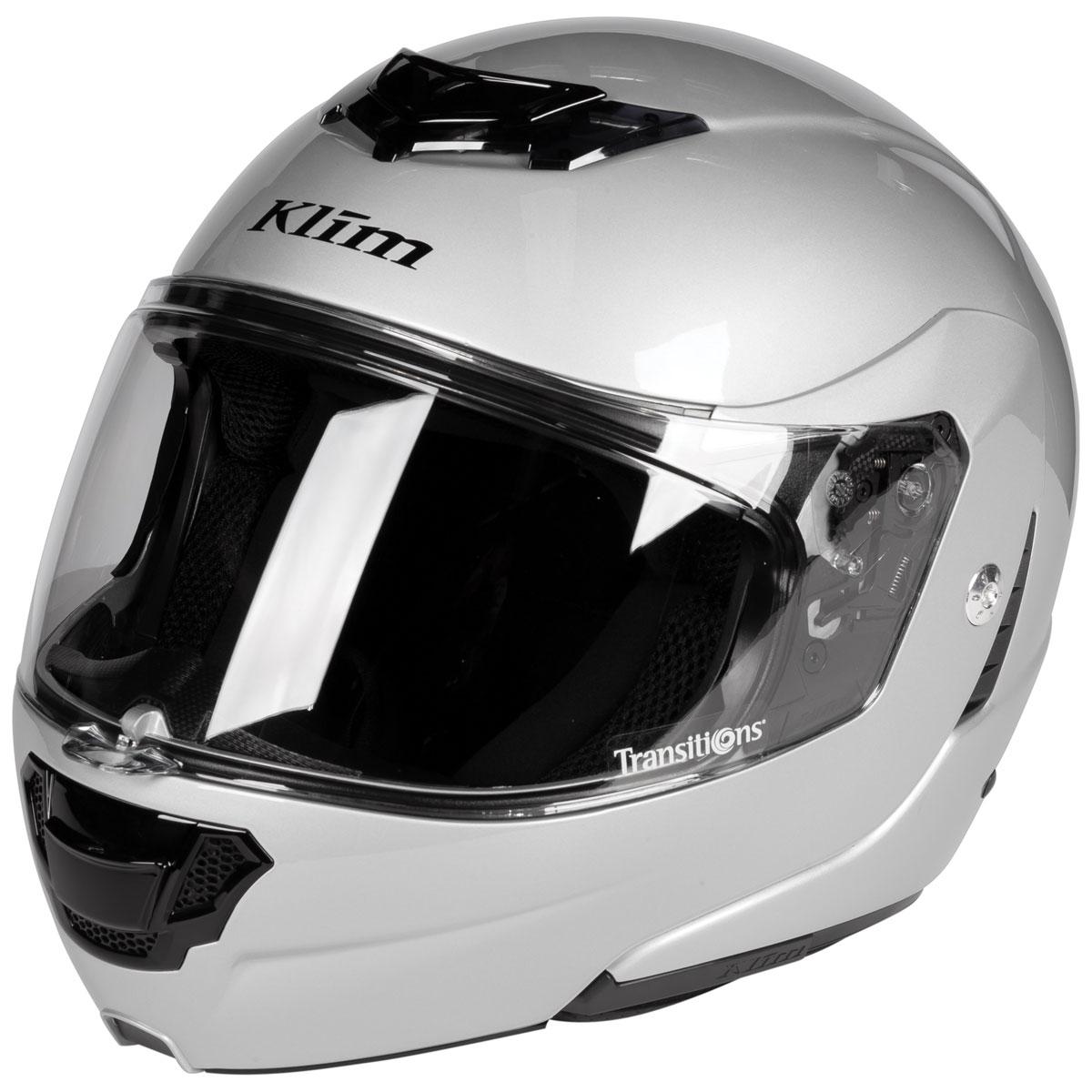 Klim TK1200 Silver Modular Helmet
