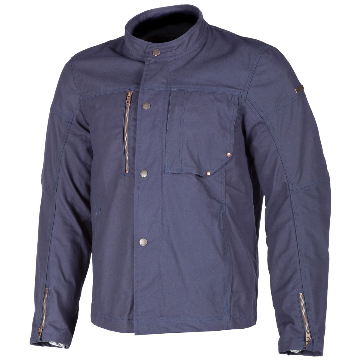 Klim Men's Drifter Blue Canvas Jacket