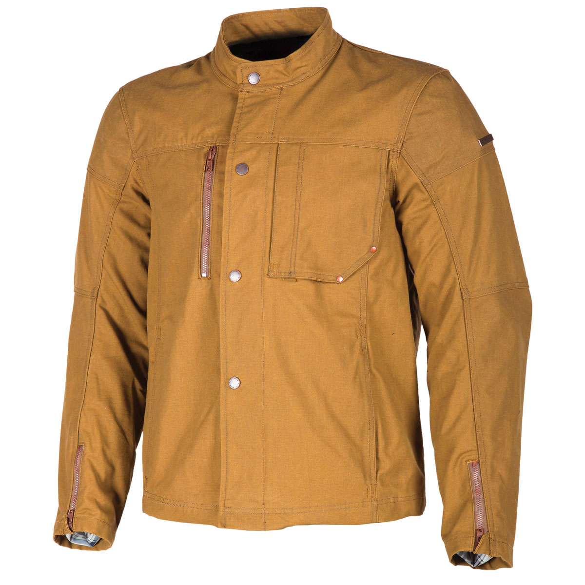 Klim Men's Drifter Brown Canvas Jacket