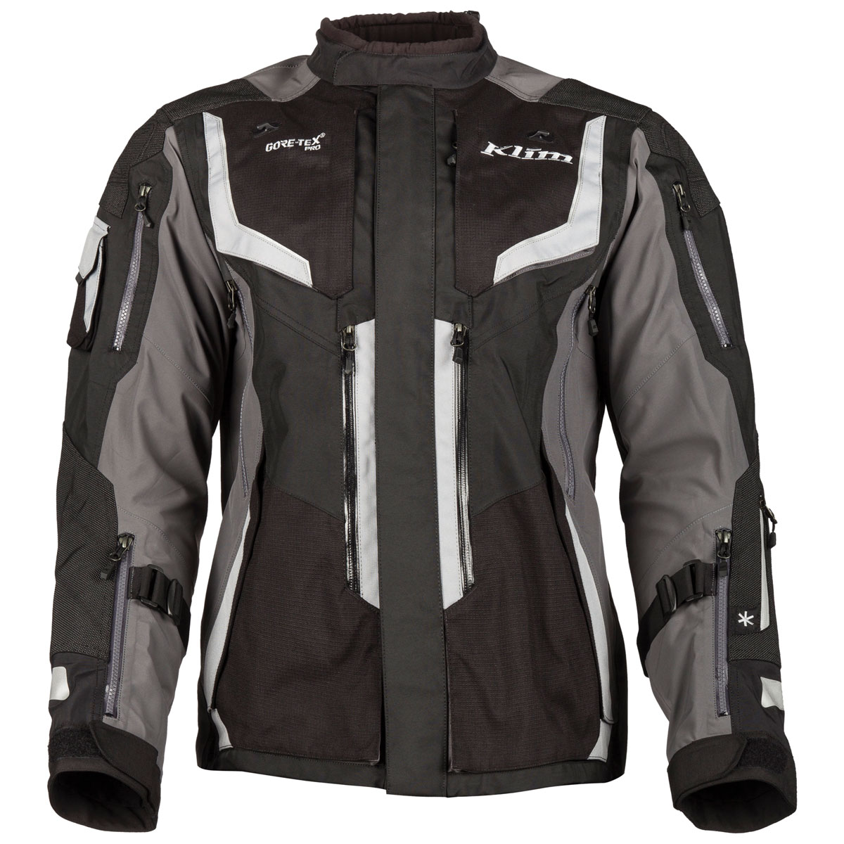 Klim Men's Badlands Pro Gray Jacket