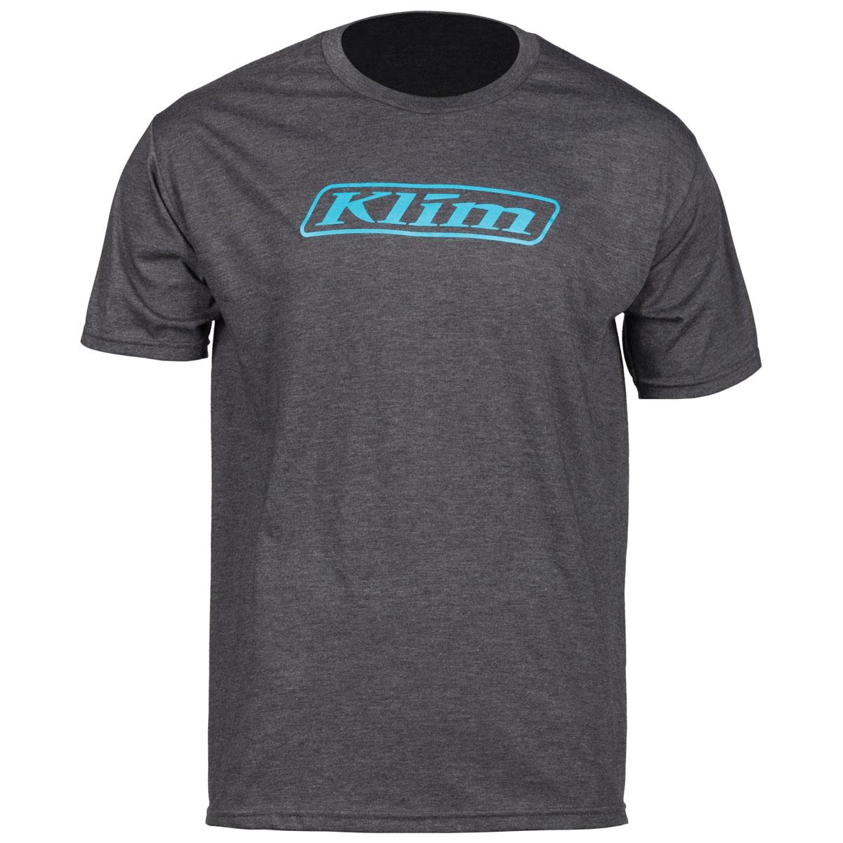 Klim Men's Word Charcoal Gray T-Shirt