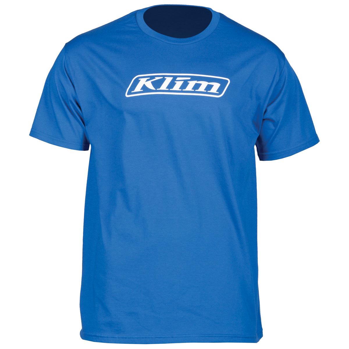 Klim Men's Word Royal Blue T-Shirt