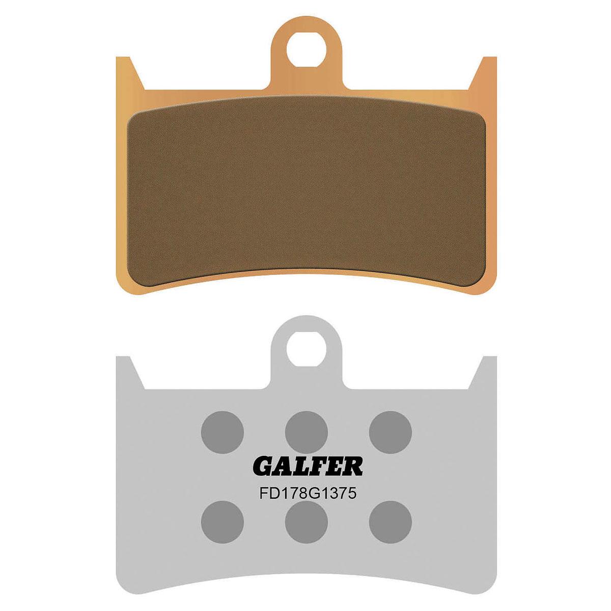 Galfer USA HH Sintered Ceramic Front Brake Pads
