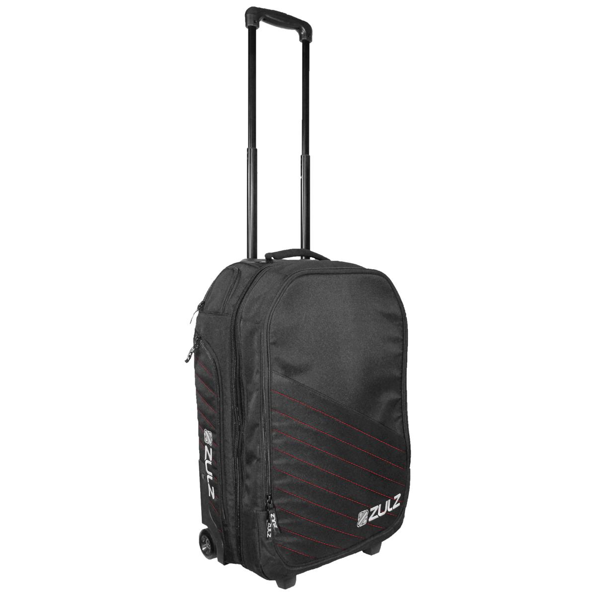 Zulz Primetime Black/Red Travel Bag