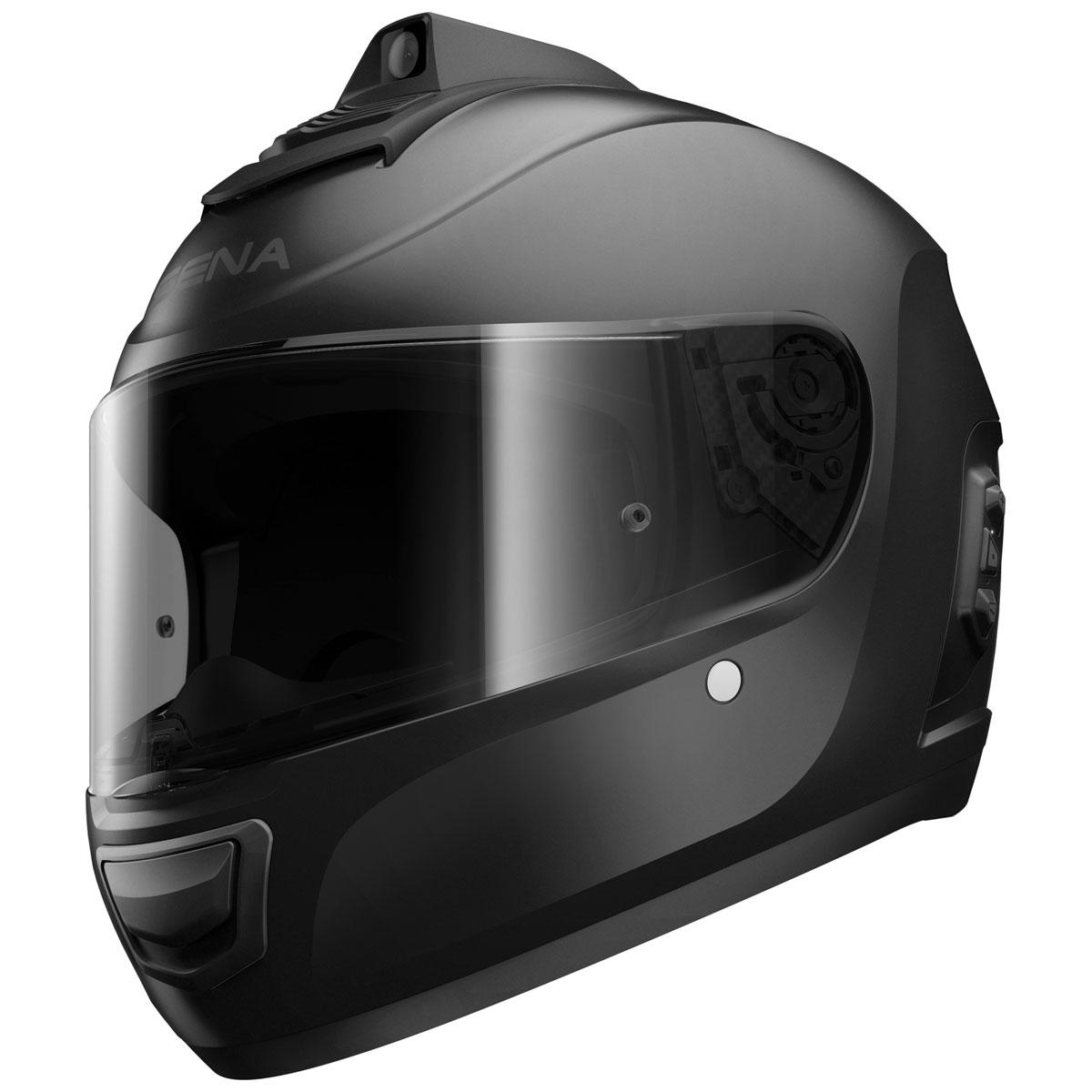 Sena Technologies Momentum Pro Matte Black Full Face Helmet