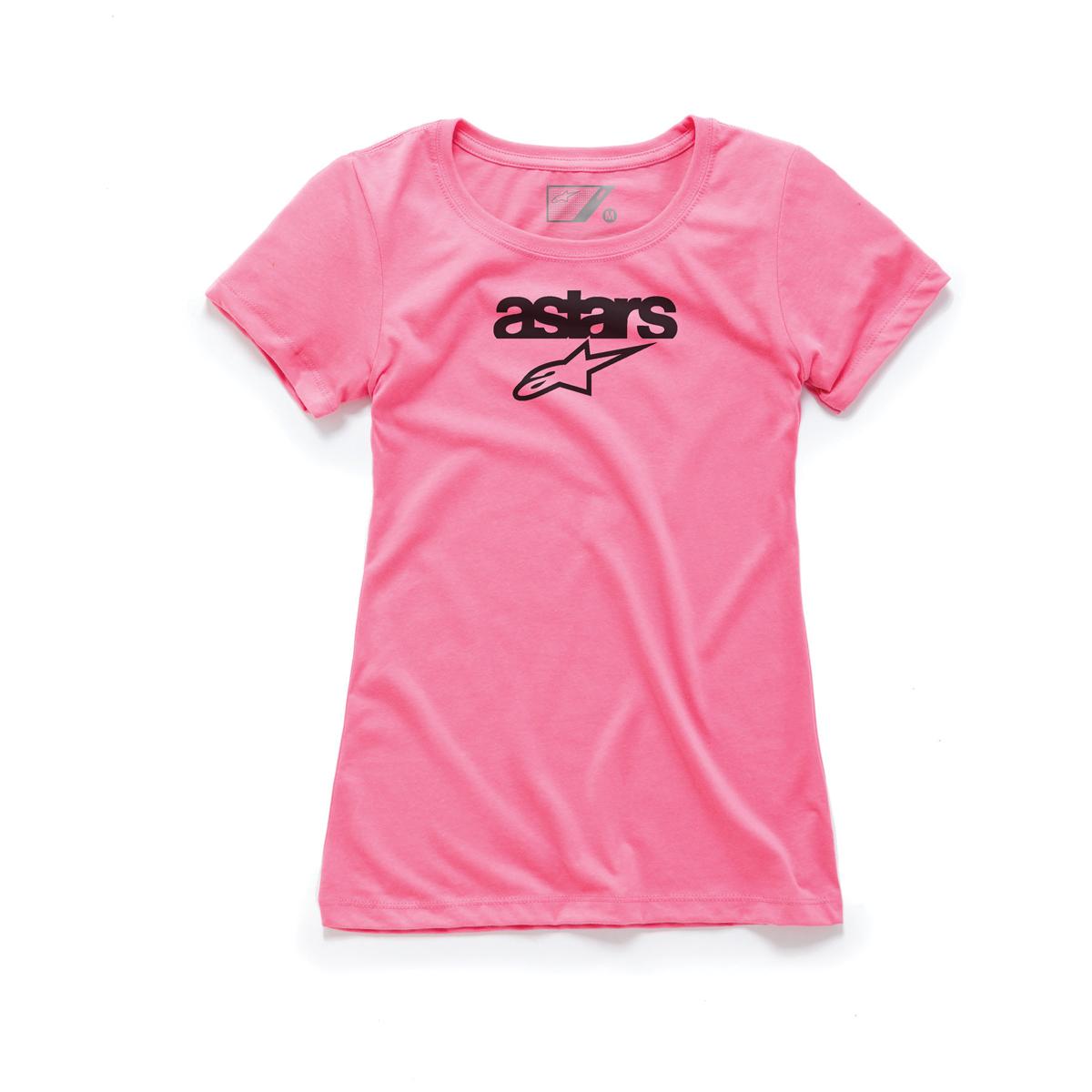Alpinestars Women's Heritage Blaze Pink T-Shirt