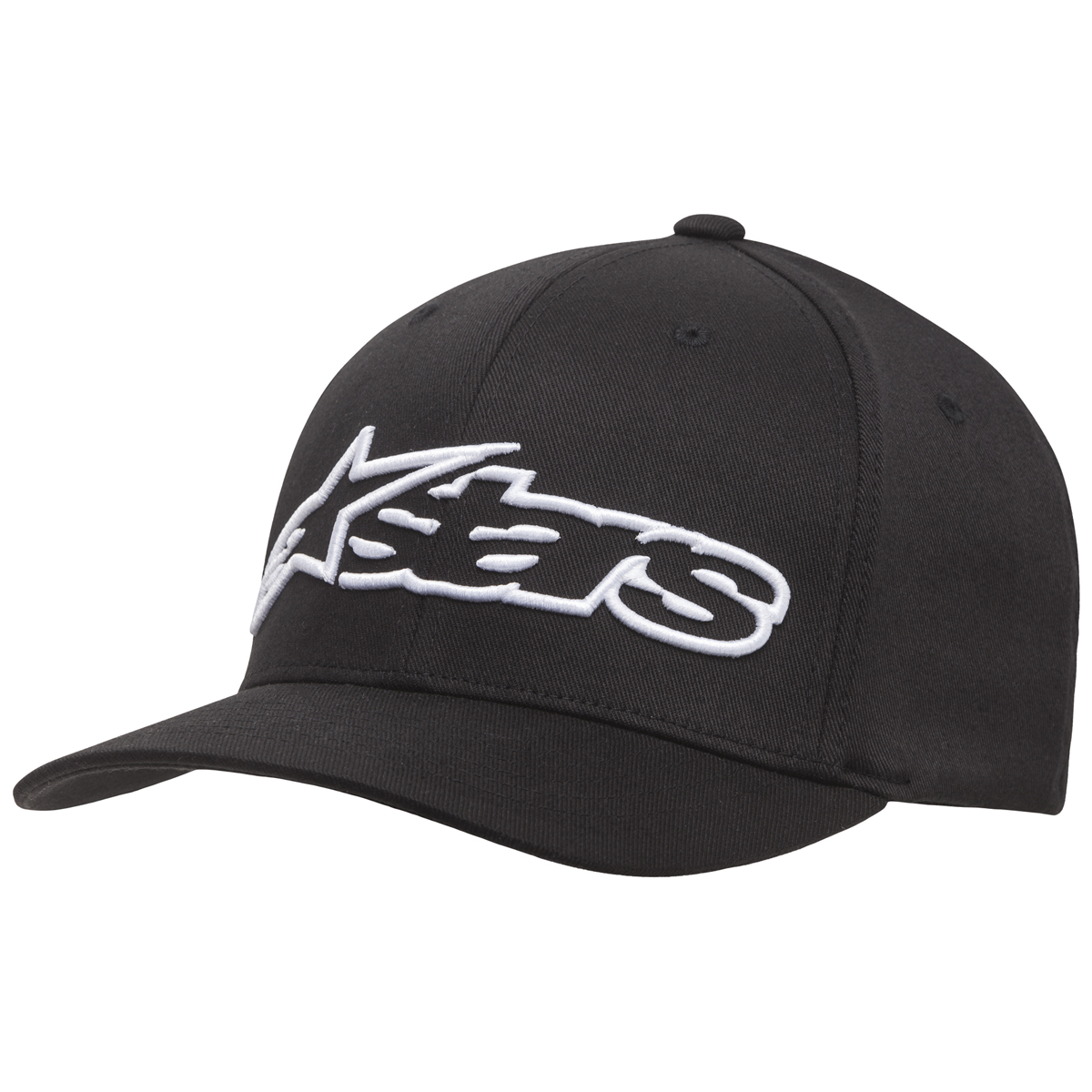 Alpinestars Blaze Black/White Flexfit Hat