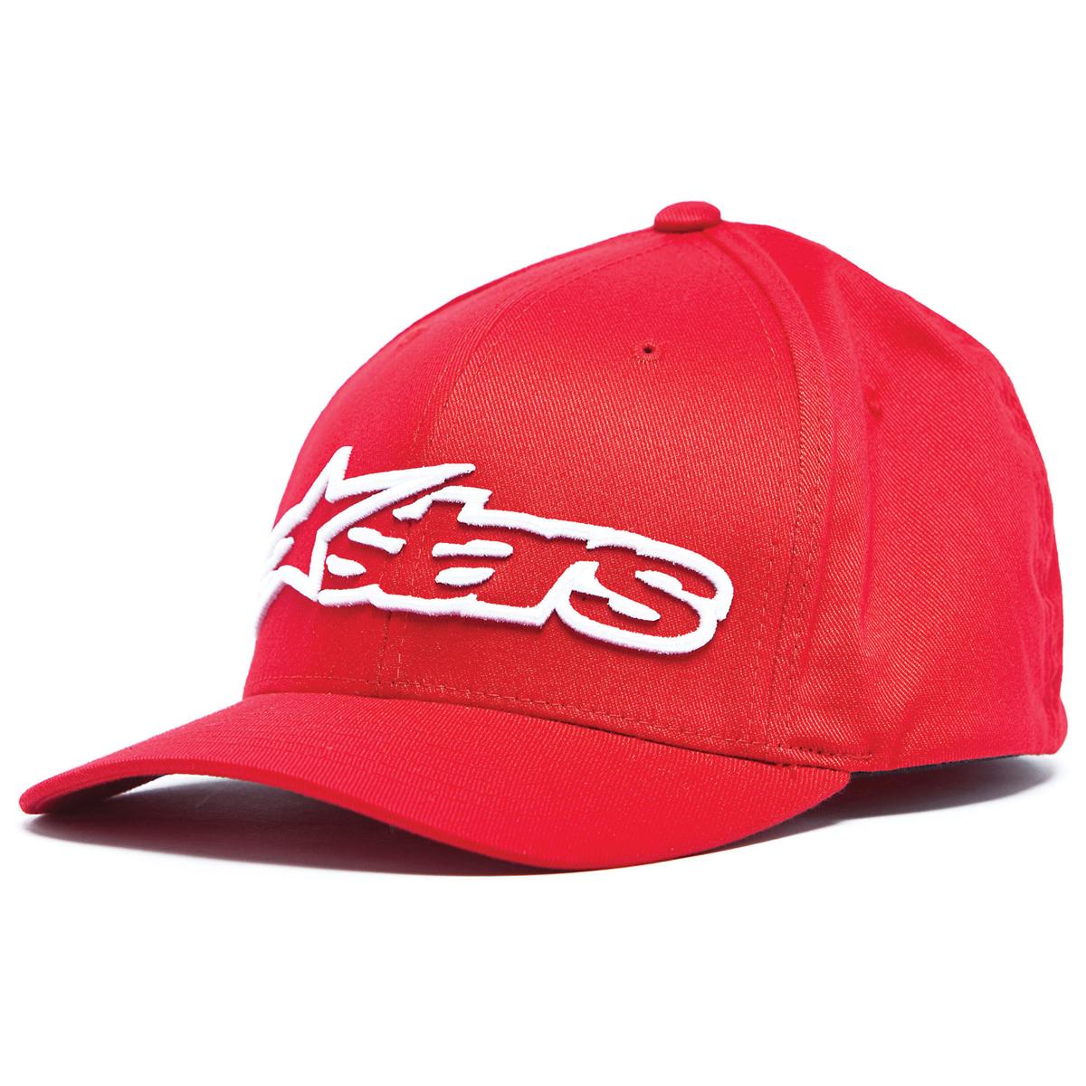Alpinestars Blaze Red/White Flexfit Hat