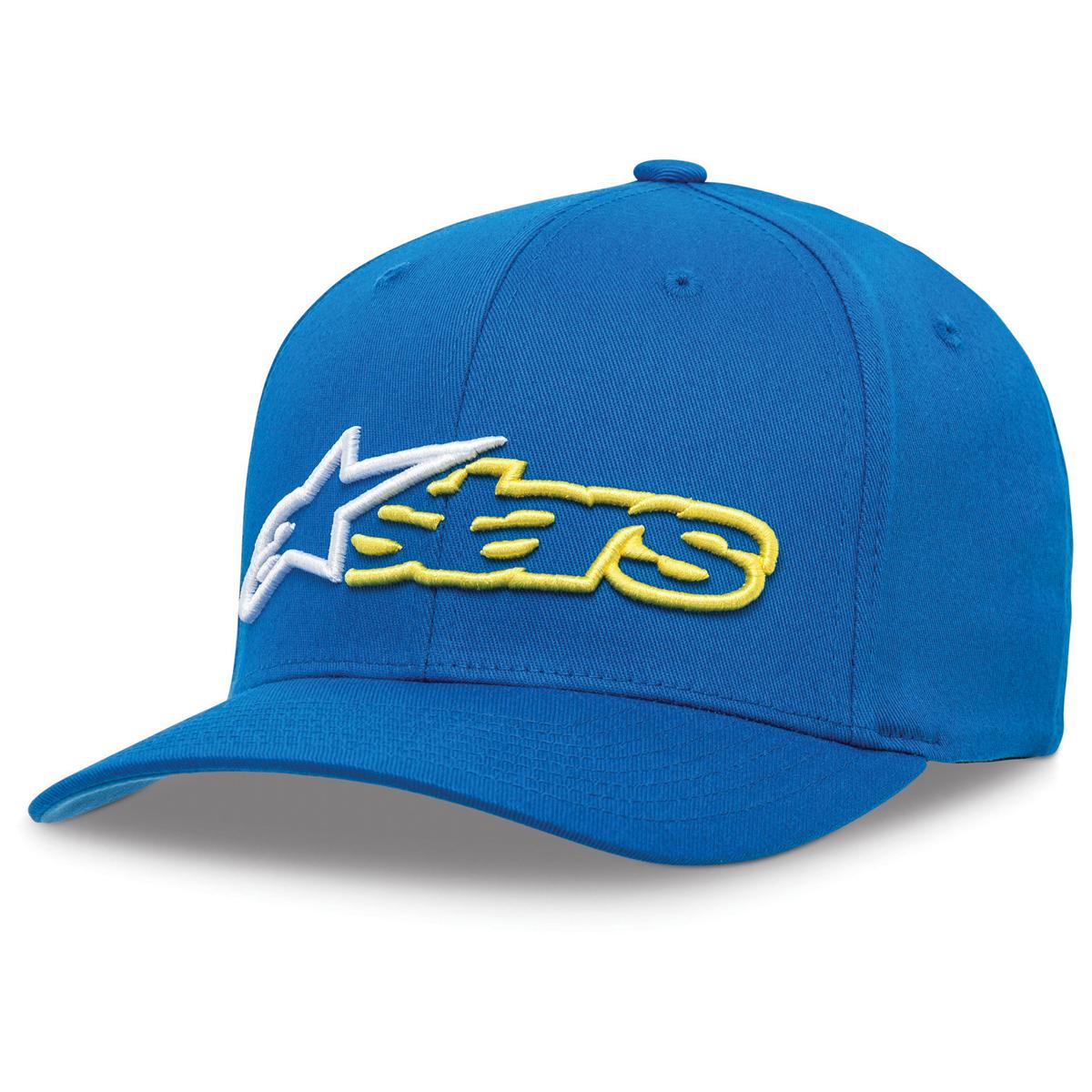 Alpinestars Reblaze Blue/White Curved Bill Hat