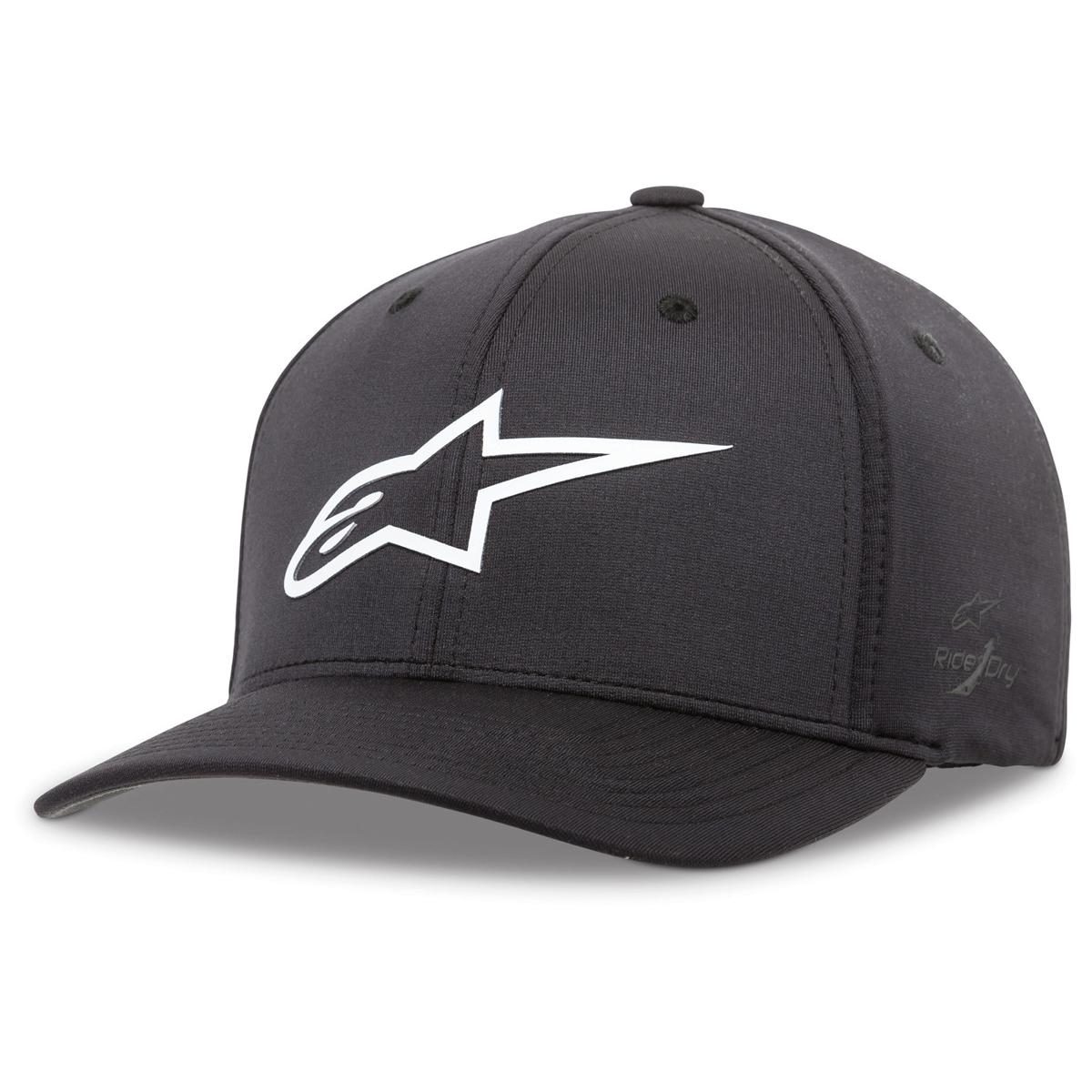 Alpinestars Ageless Sonic Tech Black/White Flexfit Hat