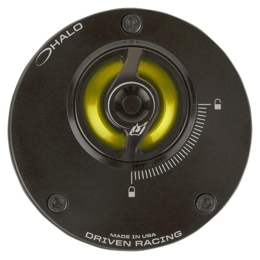 Driven Halo Gold Fuel Cap