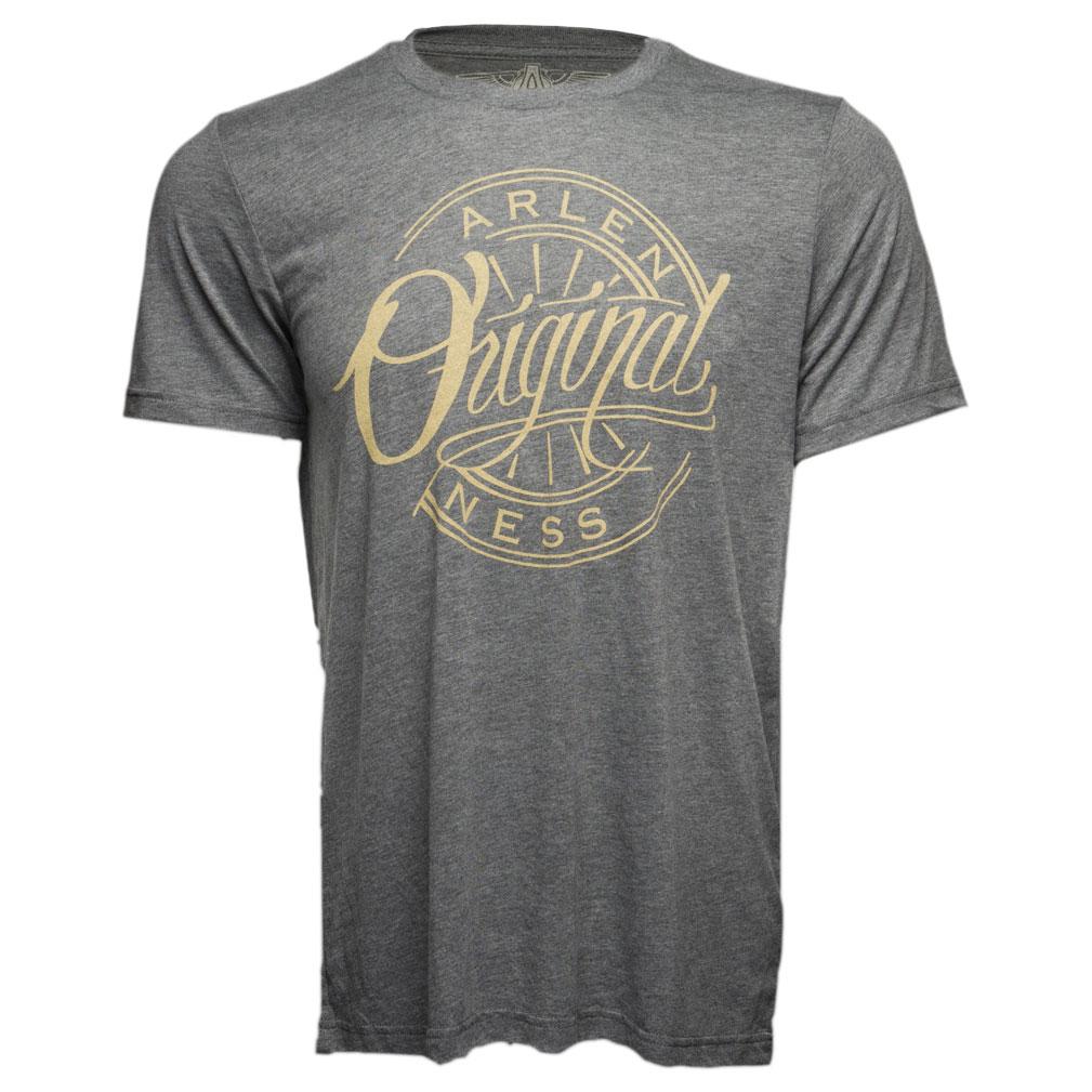 Arlen Ness Men's Original Gray T-Shirt