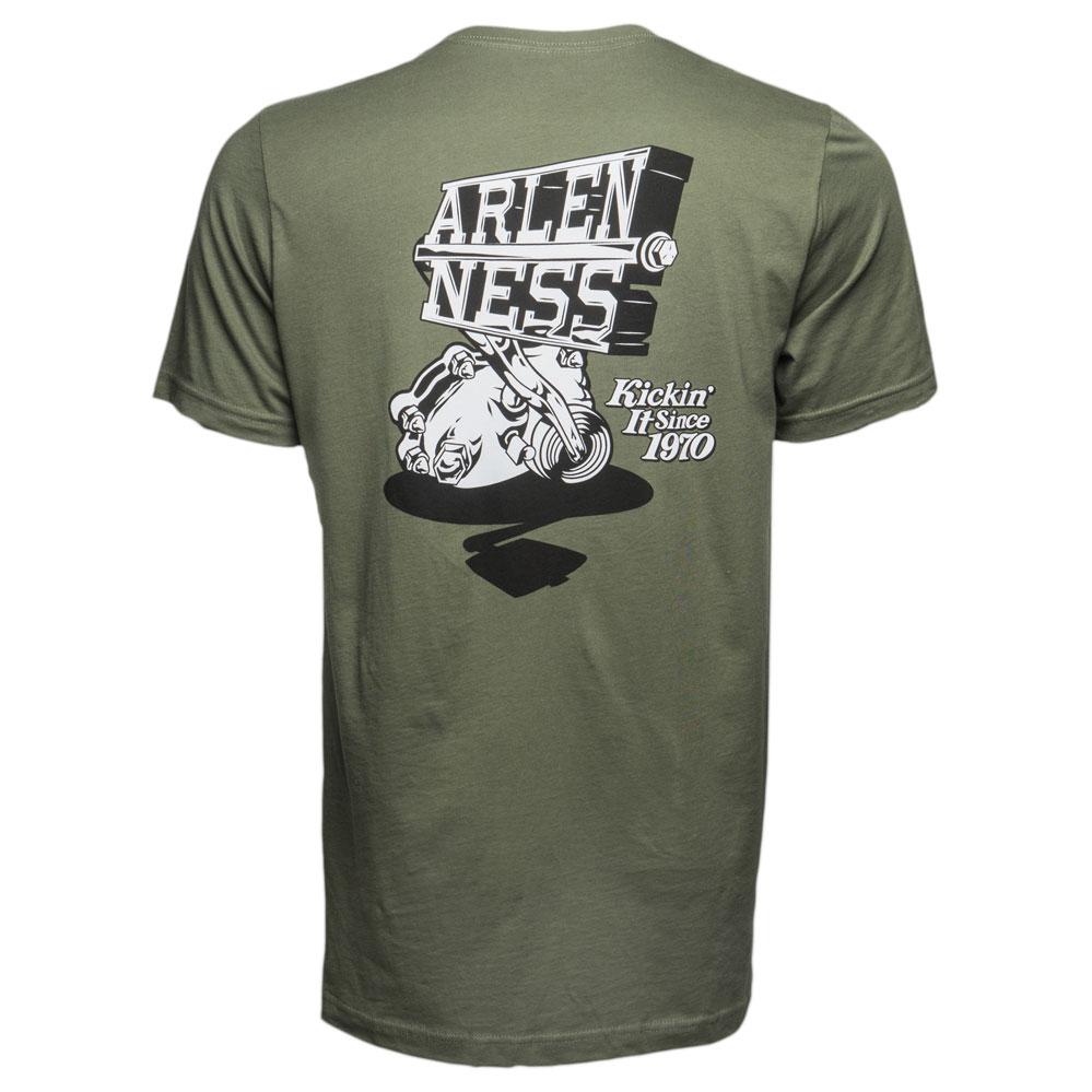Arlen Ness Men's Kicker Green T-Shirt