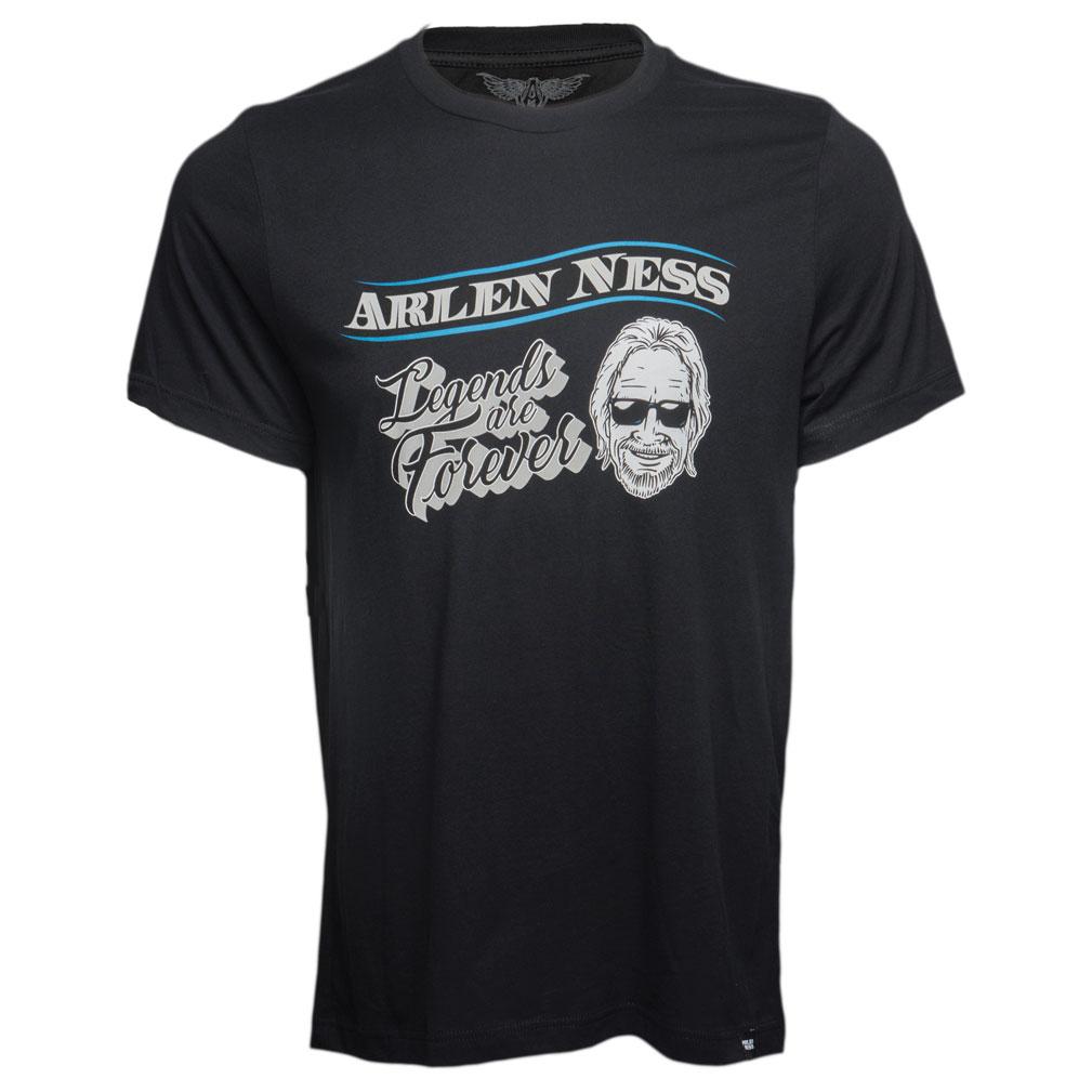 Arlen Ness Men's Legends Black T-Shirt