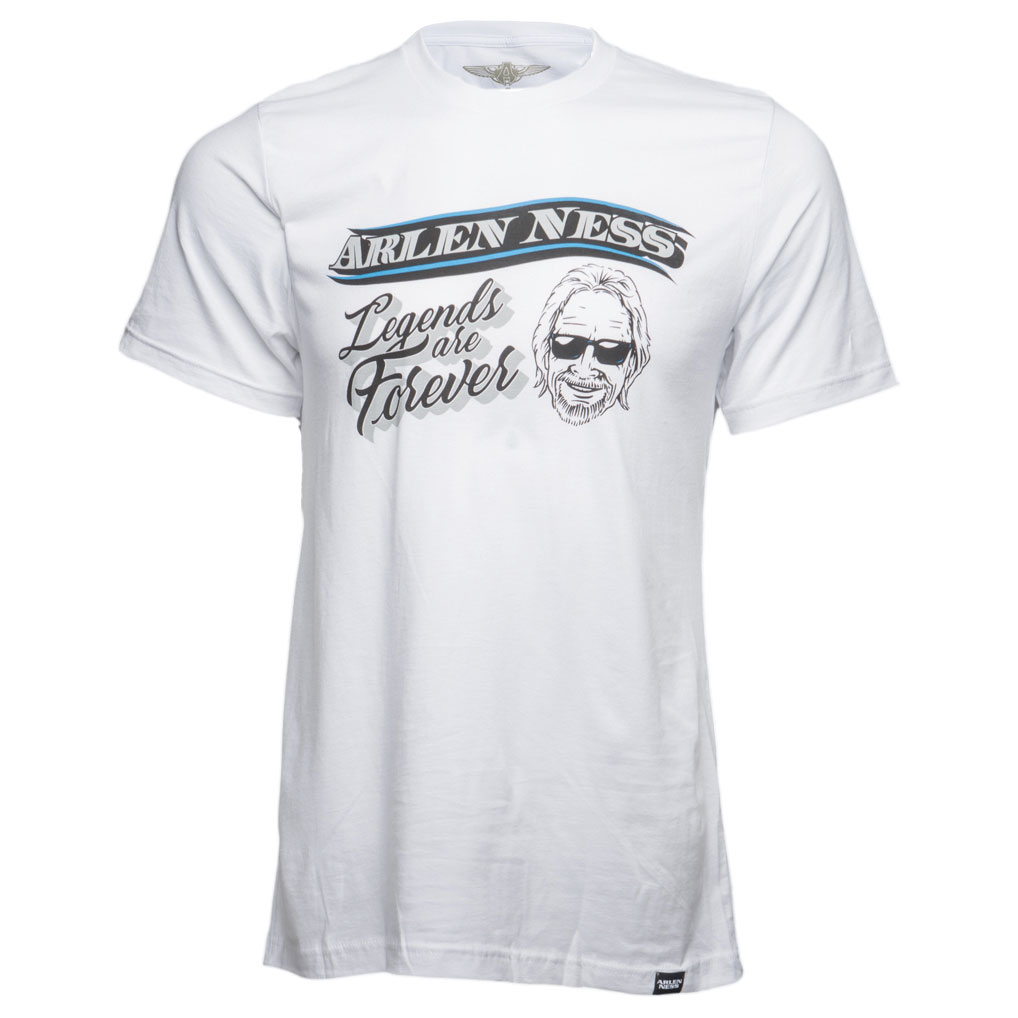 Arlen Ness Men's Legends White T-Shirt